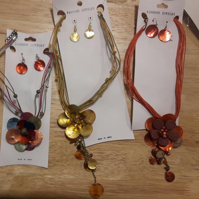 Bracelets. Necklaces