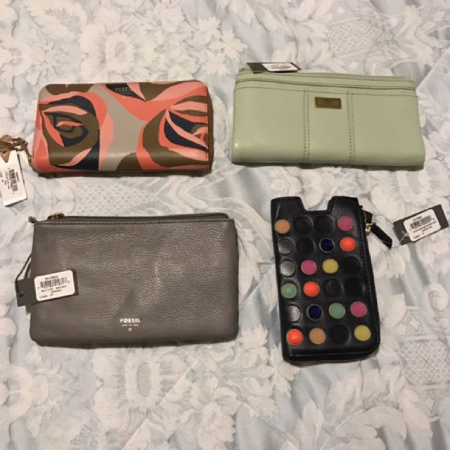 Brand New Fossil Wallets