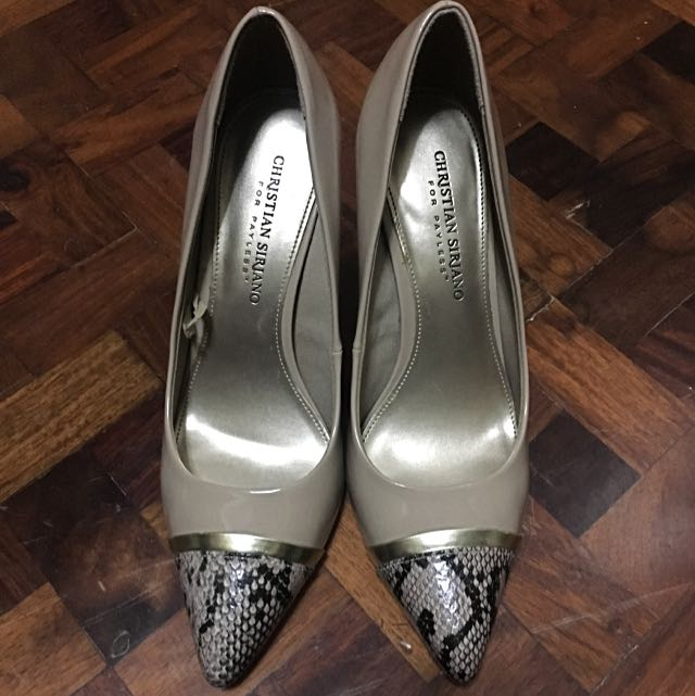 Christian Siriano Patent Stilletos