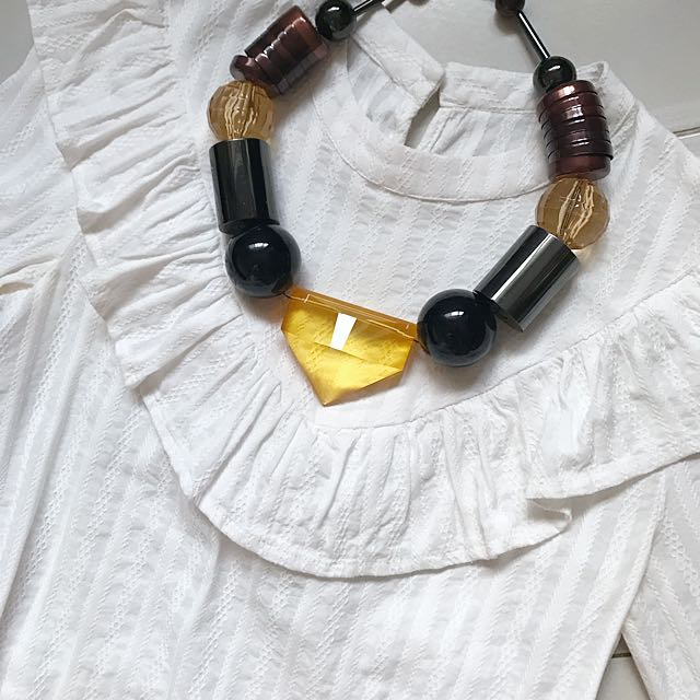 Chunky Geometric Necklace