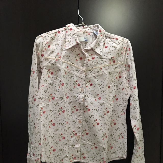 Coduray Flower Shirt