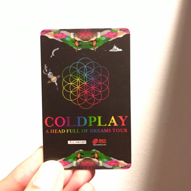 Coldplay Live in Bangkok April 7th, 2017