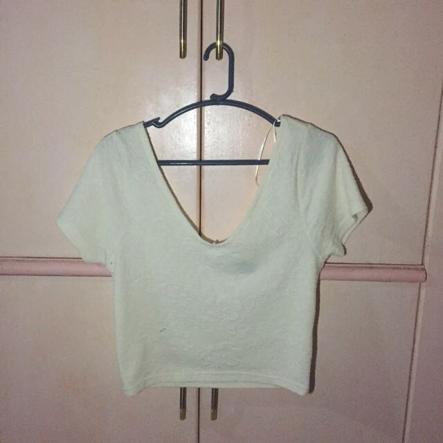 Cropped Top — Cotton On