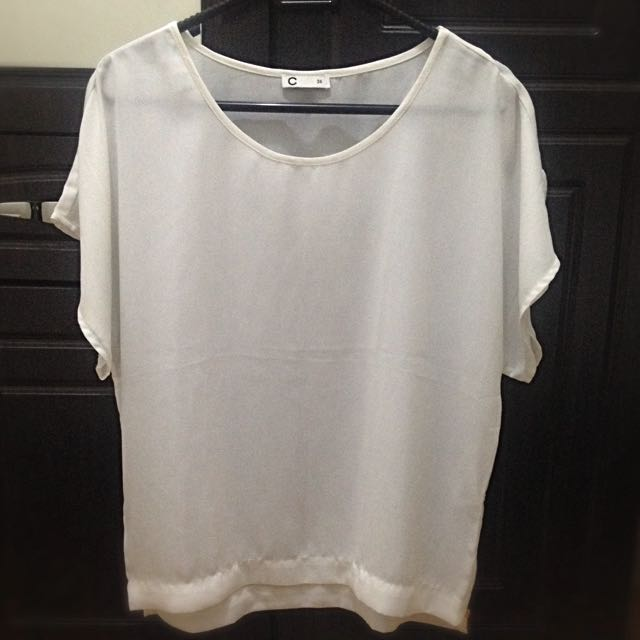 Repriced! Cubus White Blouse