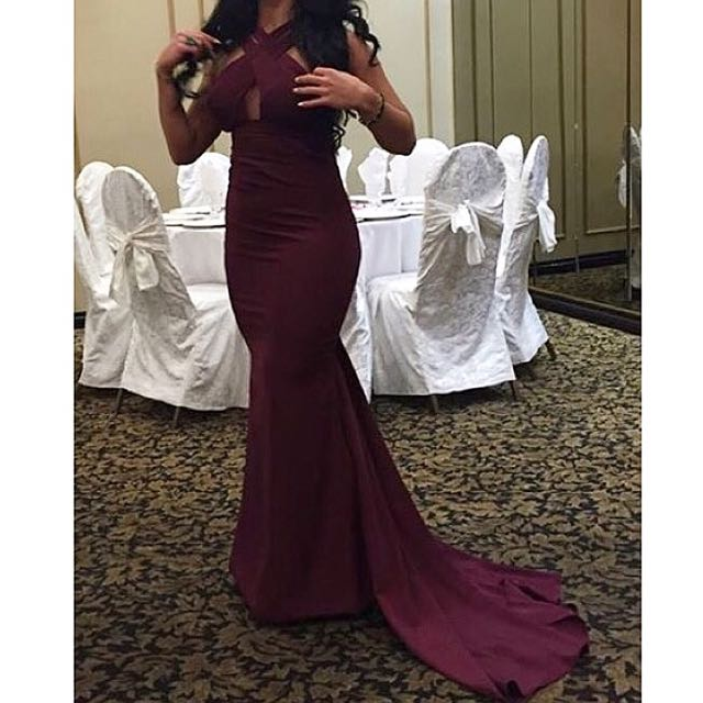 Custom made Michael Costello Evening Dress