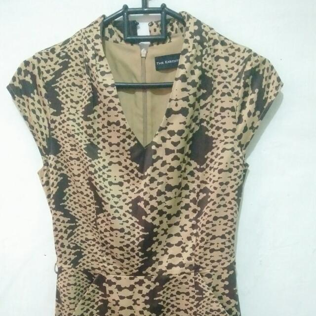Dress Leopard The Executive Size S