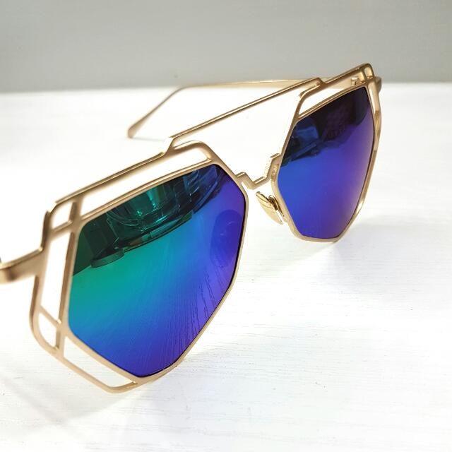 Dual Chrome Polarized Sunglasses