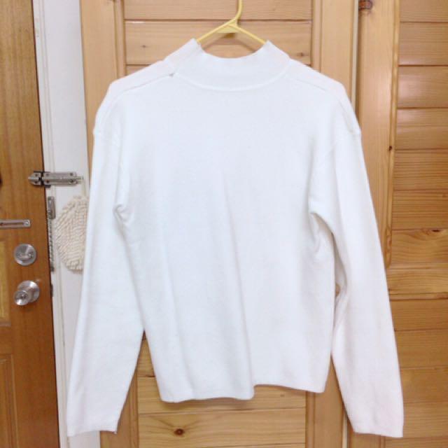 白色毛衣F