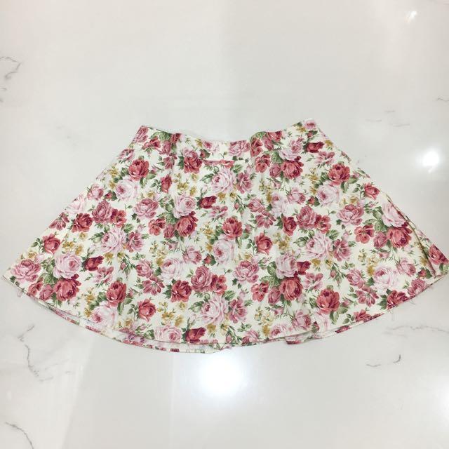 Flower Skort