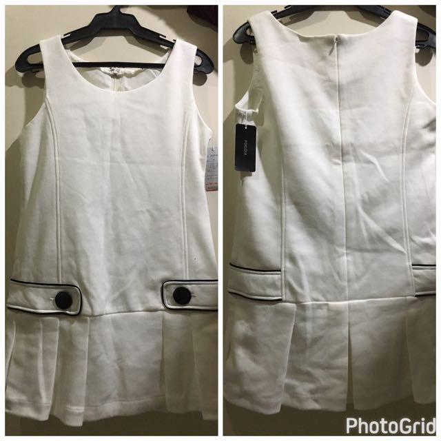Foggia White Dress