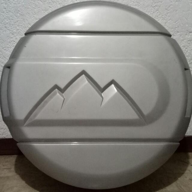 Ford Everest Spare Tire Cover Set (front And Back Cover)
