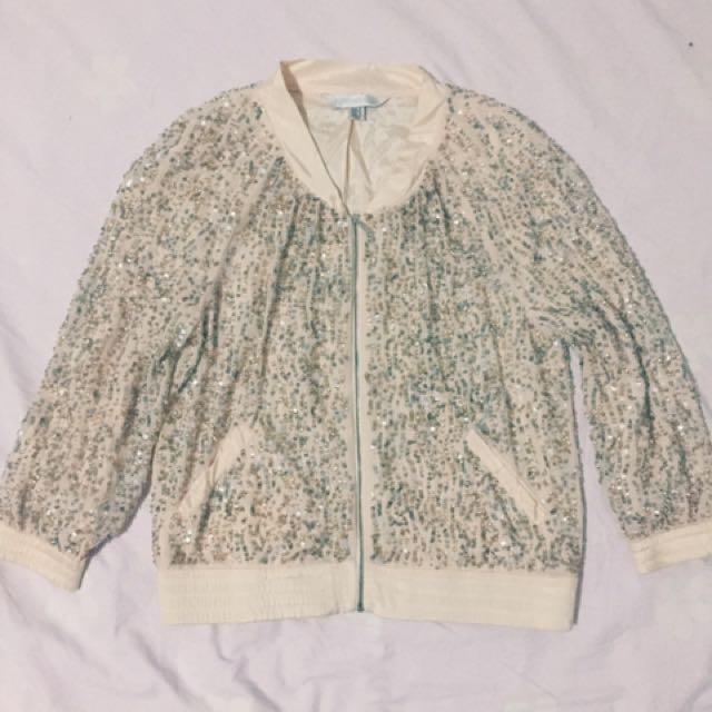 forever new beaded jacket