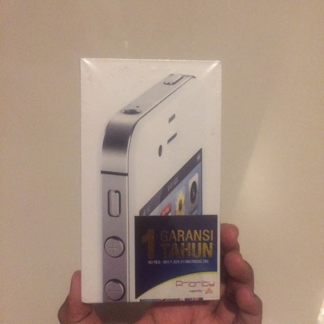⚠️FREE ONGKIR Box Original Apple iPhone 4s White 16GB