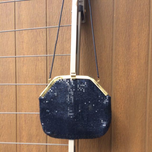 Glow mesh Hand Bag