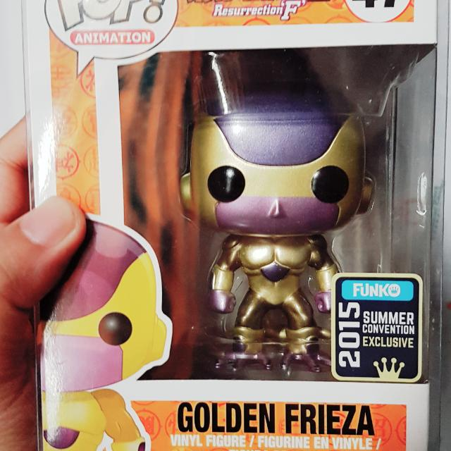 Golden Frieza Funko Pop