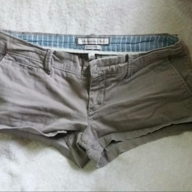 Gray Abercrombie Short