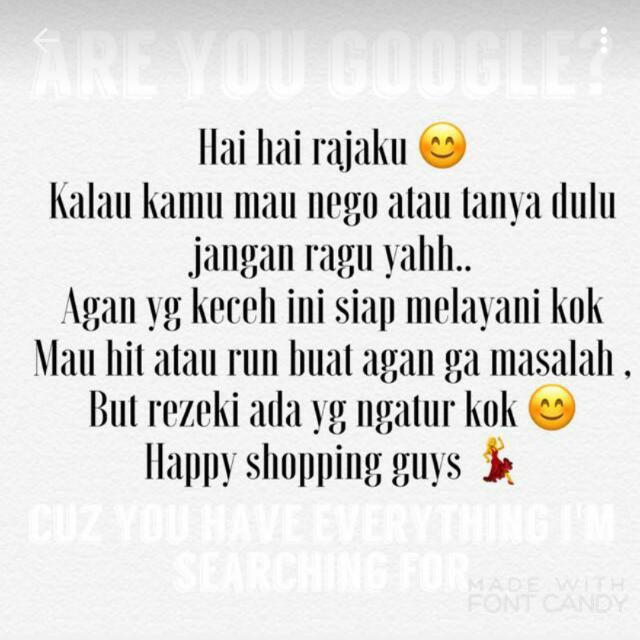 Happy Shopping !!