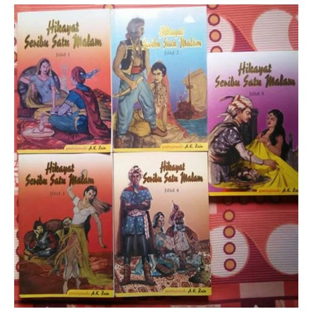 Hikayat Seribu Satu Malam Jilid 1 5 Books Stationery Books On Carousell