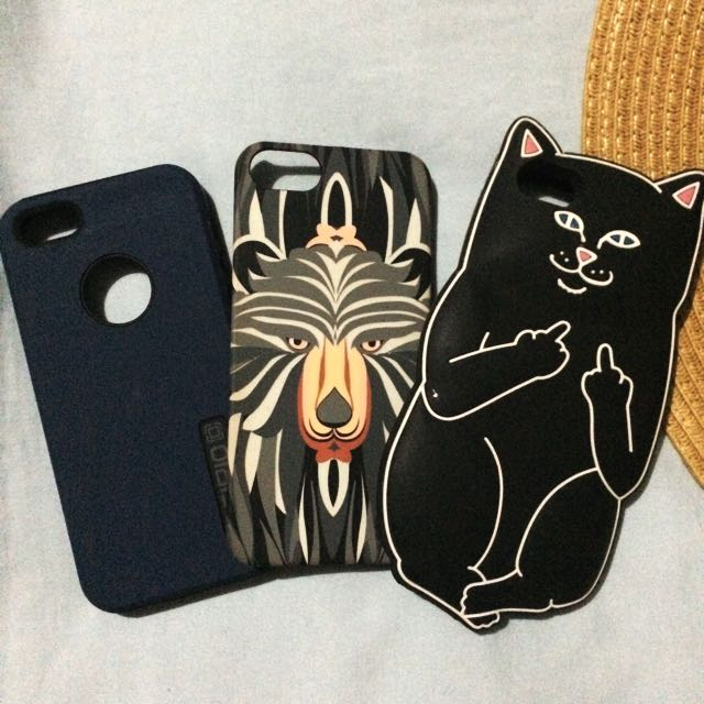 Iphone 5/5s Cases (3 For 500)