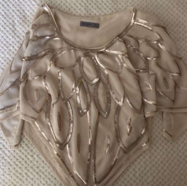 Just Jeans Sequin Poncho