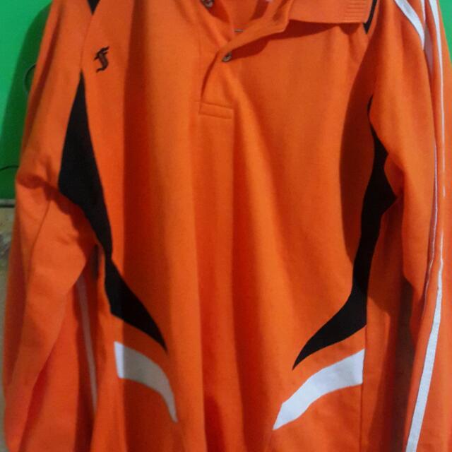 Kaos Lengan Panjang Orange