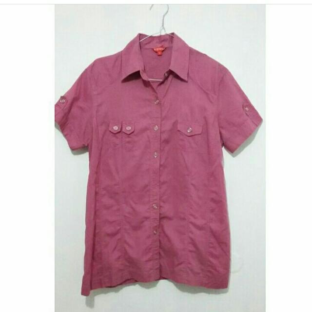 Kemeja Warna Pink