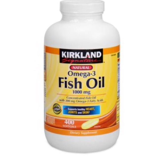 Kirkland Fish Oil
