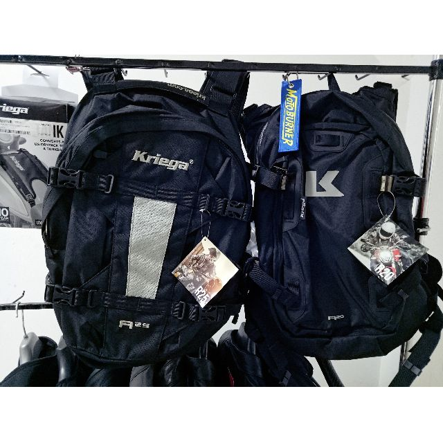 fe43d0760e Kriega R25 backpack for riding water resistant