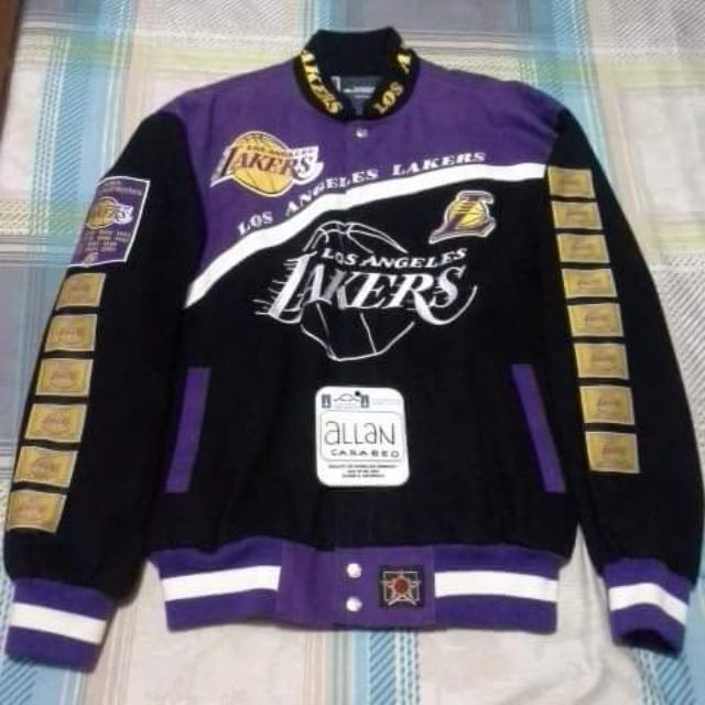 La Lakers 14 Time Champions Jacket By Jh Design Men S Fashion Clothes Outerwear On Carousell