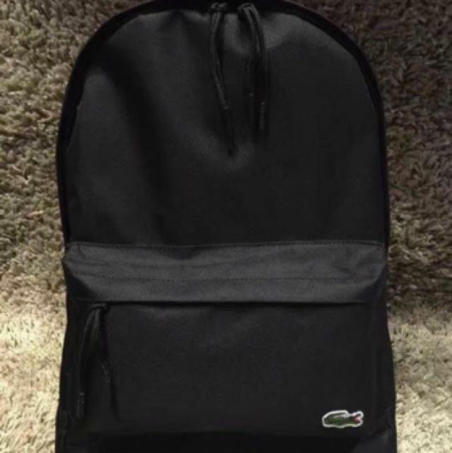 eb31e0a02ffa9d SALE!!! Lacoste Backpack