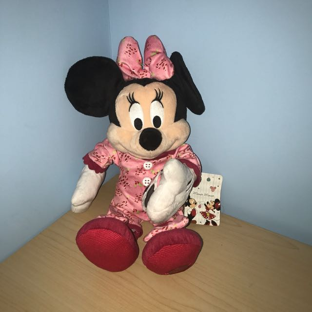 LE Holiday Minnie Mouse Plush
