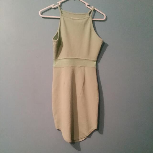 Mint Tight Dress