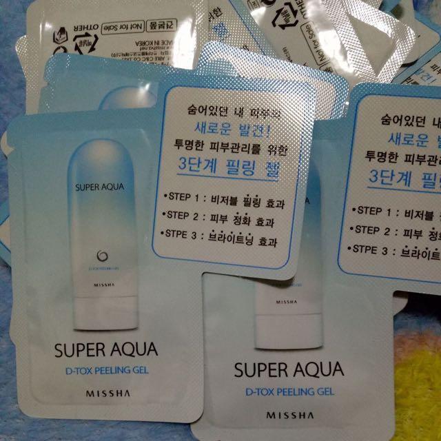 Missha Super Aqua D-tox
