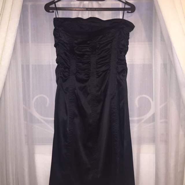 MNG women strapless dress