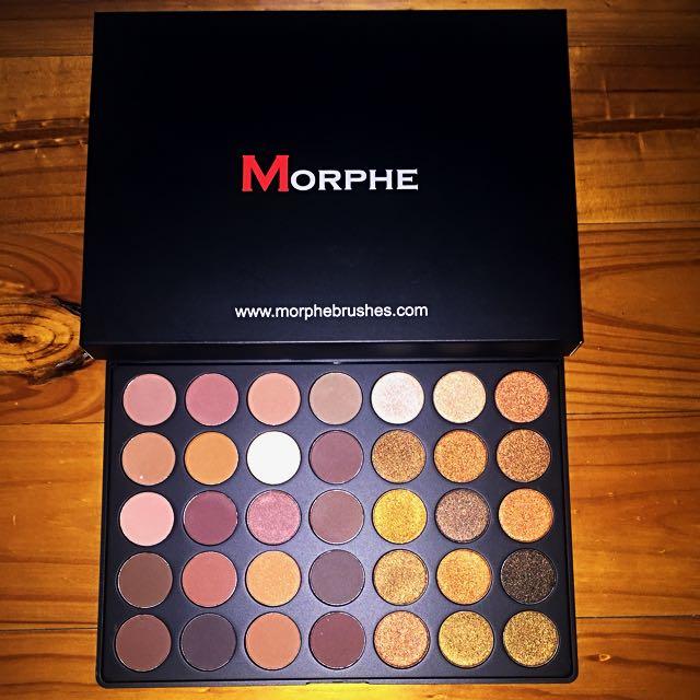 NEW MORPHE 35R Eyeshadow Palette