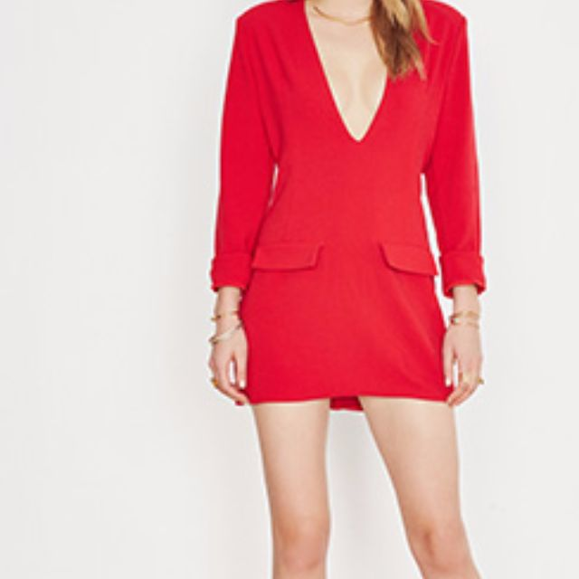 NEW Backstage Ruby Red Morgan Dress 70% OFF!