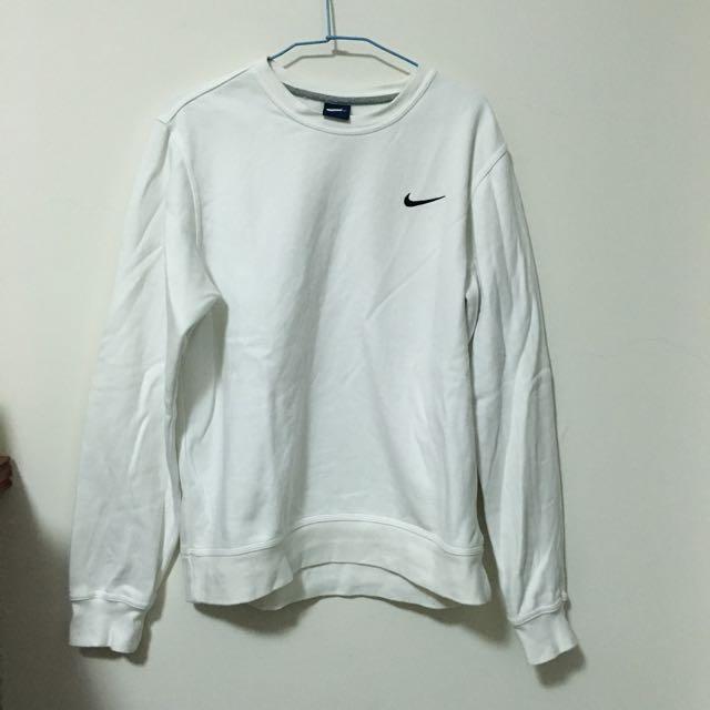 Nike 棉踢 白