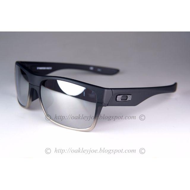 a8eb318325a Oakley twoface machinist asian fit matte black + chrome iridium ...