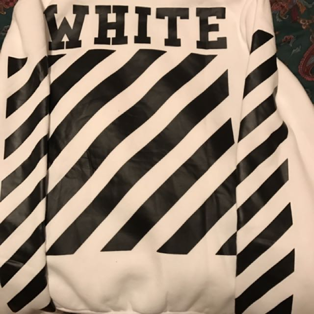 OFF-WHITE abstract hoodie
