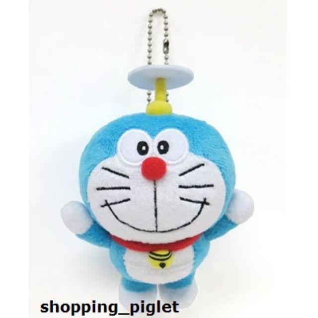 Oo 跟著小豬環遊世界購物趣 oO 日本連線-最新款 哆啦A夢 小叮噹 吊飾 娃娃 竹蜻蜓