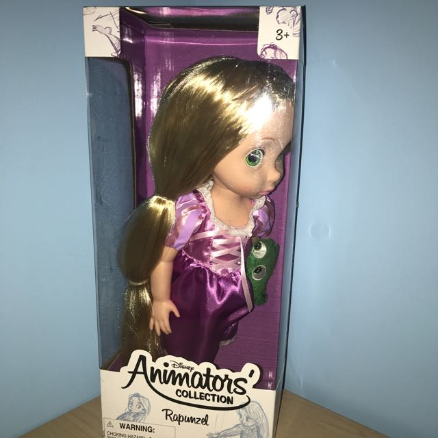 Opened Box, Mint Condition Rapunzel