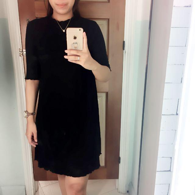 P&B Black Dress