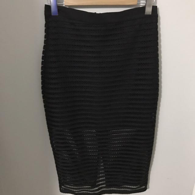 Pencil High Waisted Skirt