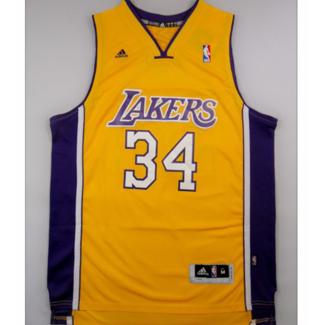 811744b45a0 PO  NBA Los Angeles Lakers Shaquille O Neal Swingman Jersey