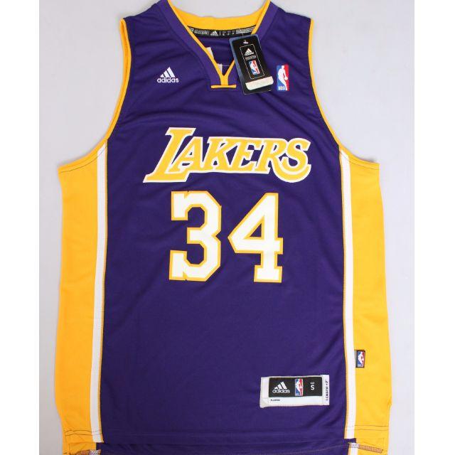 on sale 5afef 92428 [PO] NBA Los Angeles Lakers Shaquille O'Neal Swingman Jersey