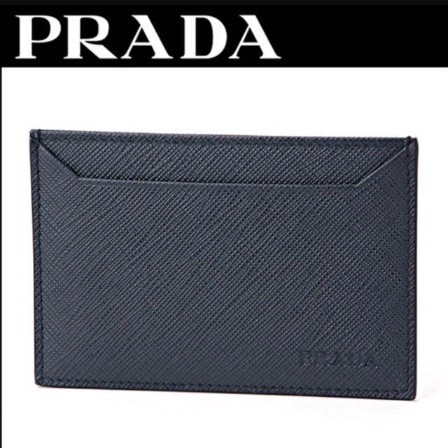 c5d62891c2f5 Prada Card Case, Men's Fashion, Bags & Wallets on Carousell