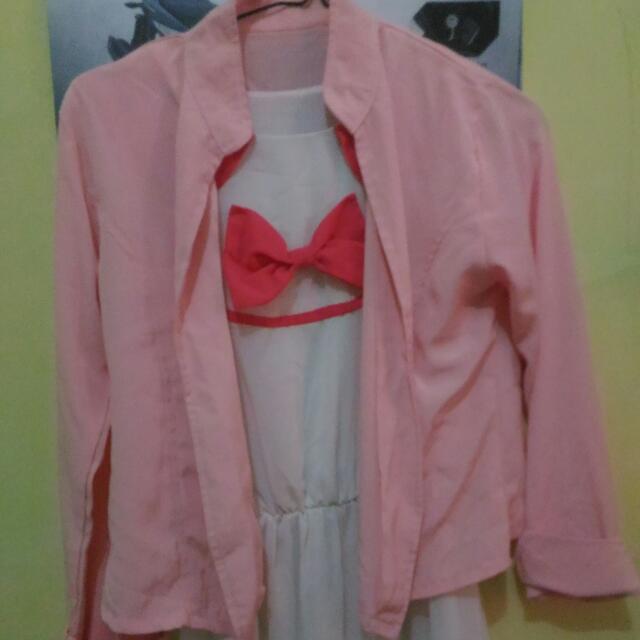Preloved Dress+Cardigan