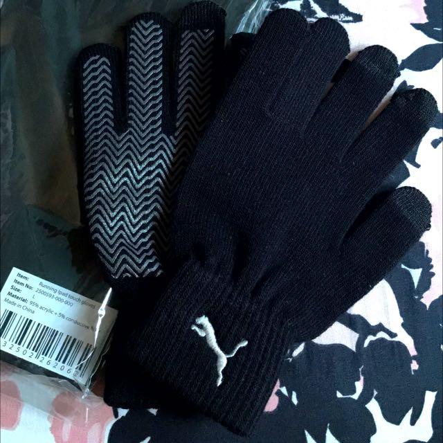 33f7de97d62b Puma Running Ipad Touch Gloves