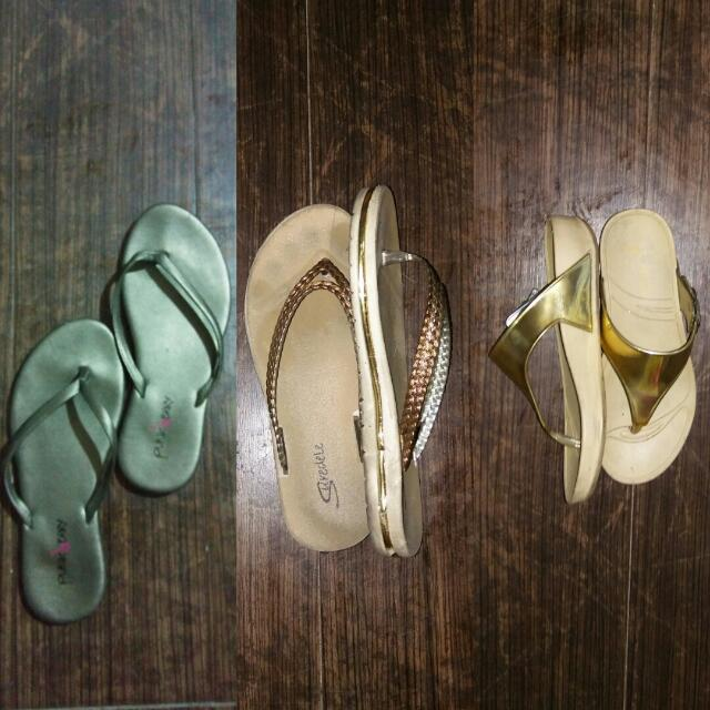SALE!!! 3 Slippers For 90php