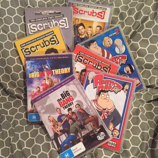 Season DVDs